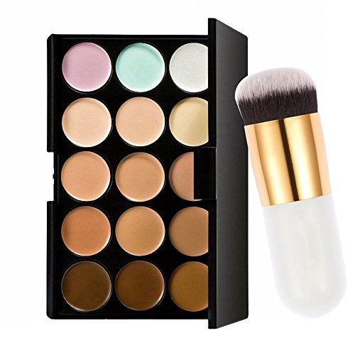 Jocestyle 15 Colors Face Cream Contour Makeup Concealer Pale