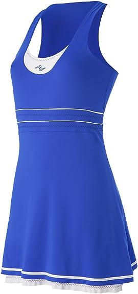 Naffta Tenis Padel - Vestido para Mujer, Color Azul Francia/Blanco ...