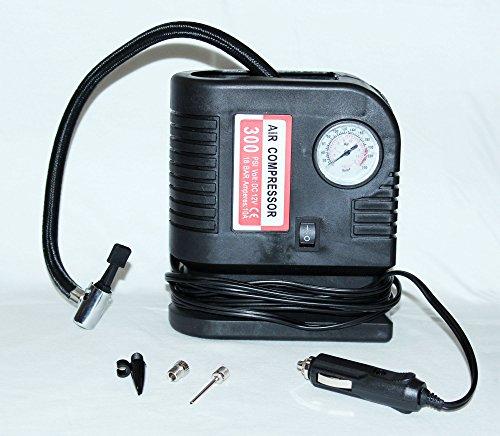 PrimeTrendz TM 300 PSI Portable Air Compressor - Tire Inflat