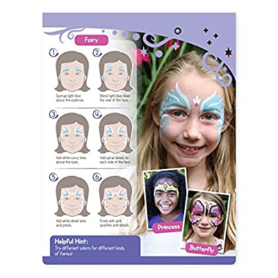 Melissa & Doug On the Go Face Painting Craft Activity Set (35+ Designs, Great Gift for Girls and Boys - Best for 5, 6, 7, 8, 9 Year Olds and Up): Toy: Toys & Games