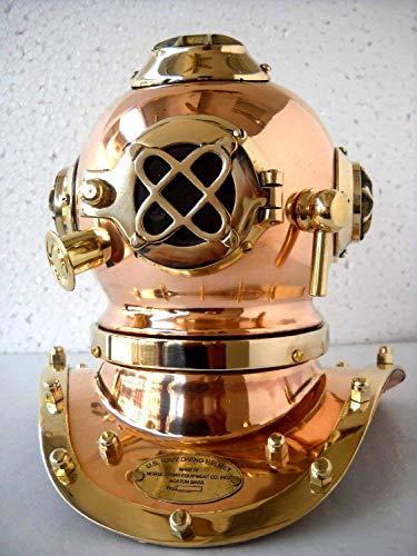 Antique Reproduction Sea Diver Decorative Diving Helmet Desk Nautical Replic