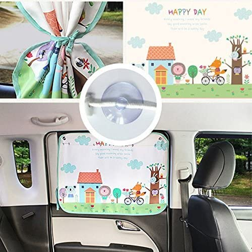 GoodFriends Car Sun Shade Curtain for Side Window Baby Kids Children Car Sunshade Protector Sun Blocker Blind