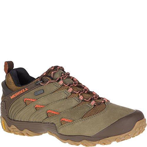 Shoe Olive nbsp;waterproof 7 Hiking 5 Verde 37 Eu Chameleon Merrell dusty nFgI44