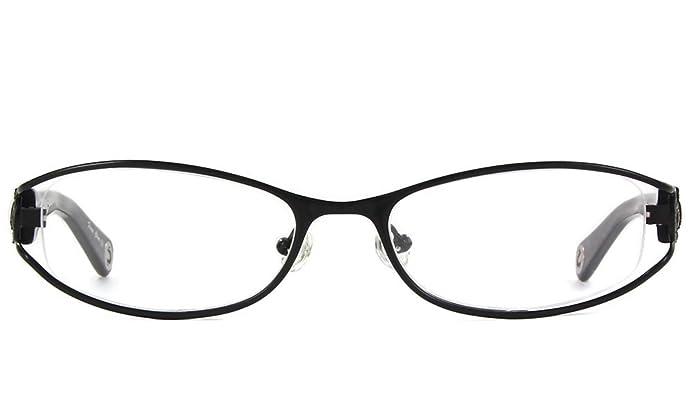 Amazon.com: TRUE RELIGION Billie Eyeglasses Black Optical Frames ...