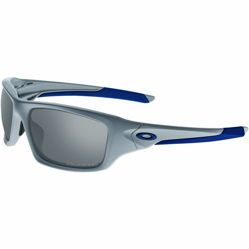 Oakley Mens Valve OO9236-25 Polarized Rectangular Sunglasses