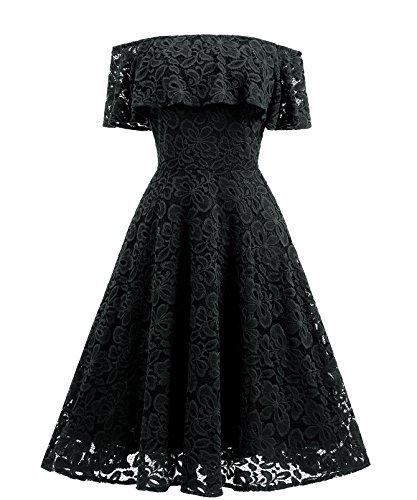 Adodress - Vestido - para Mujer Negro