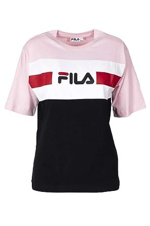 Fila T Shirt Shannon RoseBlancNoir Taille: L (Large