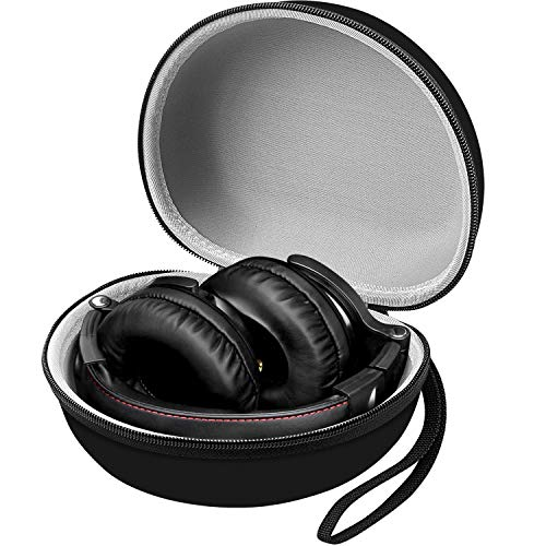Case Works with OneOdio Adapter-Free Closed Back Over-Ear DJ Stereo Monitor Headphones/Anker Soundcore Life Q10 Wireless Bluetooth Headphones