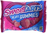 Wonka Sweetarts Tangy Candy Valentine's Gummy Hearts, 11-ounce Bags (Single Bag)