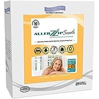 AllerZip Smooth Waterproof Bed Bug Proof Zippered Bedding Encasement