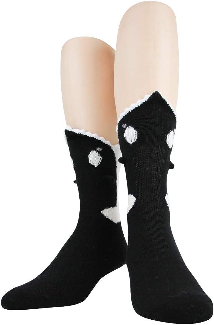 Foot Traffic Men's 3D Socks, Fits Men's Shoe Sizes 7-12