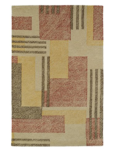 Hand Tufted Camel (Kaleen Rugs Montage Collection MTG04-43 Camel Hand Tufted 9' x 12' Rug)