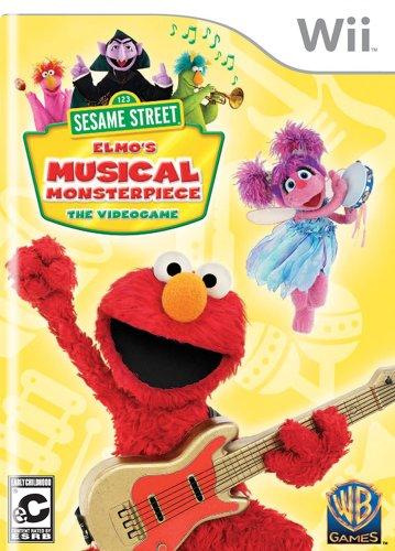 Sesame Street: Elmo's Musical Monsterpiece - Nintendo Wii