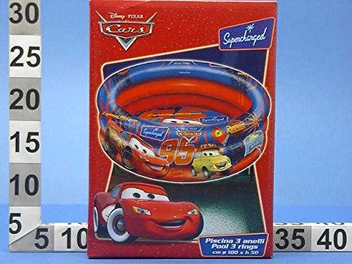 C&C Piscina Hinchable Cars 100 cm 3 anillos Idea regalo playa ...
