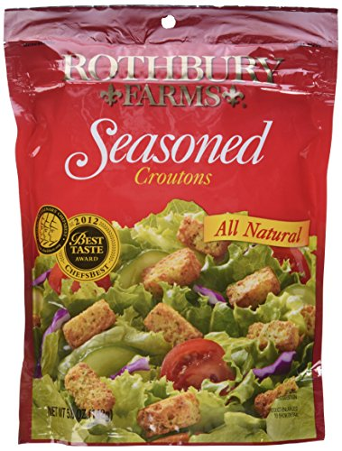 Rothbury Farms, All Natural Seasoned Croutons, 5oz Pouch (Pack of -