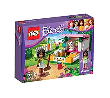 58896062408 LEGO Friends 3938  Andrea s Bunny House  Amazon.co.uk  Toys   Games
