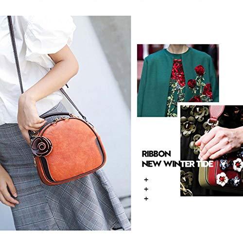 Spfazj Summer Shell Green pelle Bag coreana 2019 Messenger Mini Versione Wild del New Wave Small Bag in 1Hr1Bn4q