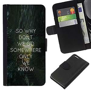 Apple iPhone 5C , la tarjeta de Crédito Slots PU Funda de cuero Monedero caso cubierta de piel ( Love Quote Text Message Valentines Gift)