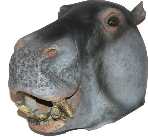Hippo Mask : Deluxe Latex Animal Mask]()