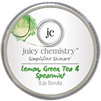 Juicy Chemistry Organic Lemon,Green Tea & Spearmint lip scrub(10g)