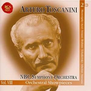 Orchestral Show Pieces (2 CD's) - Music by Brahms, Muscorgsky - Ravel, Sibelius, Swetana, Strauss & Tchaikovsky.