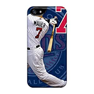 Case Cover Minnesota Twins/ Fashionable Case For Iphone 5/5s