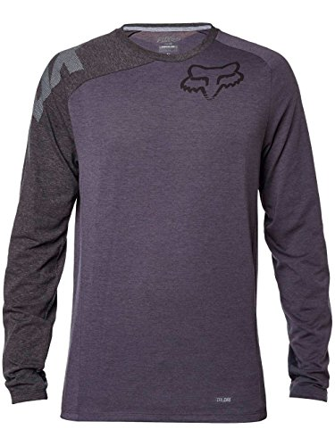 Fox Racing Distinguish Tech Jersey - Long-Sleeve - Men's Pewter, L
