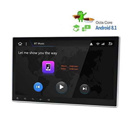 Autoestéreo para coche Reproductor de DVD Android 8.1 ...