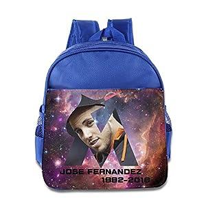 Jose Fernandez Rip Kids Backpack School Bag For Boys/girls RoyalBlue