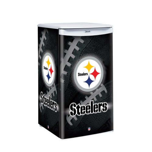 NFL Pittsburgh Steelers Counter Top Refrigerator, 3.2 Cubic (Auto Defrost Freezers)