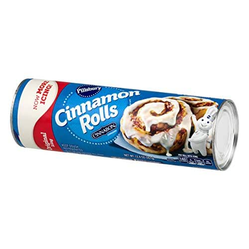 Pillsbury, Cinnamon Rolls with Icing, 12.4 oz