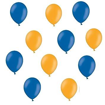 100 Luftballons metallic blau Luftballon Ballon Qualität aus Europa