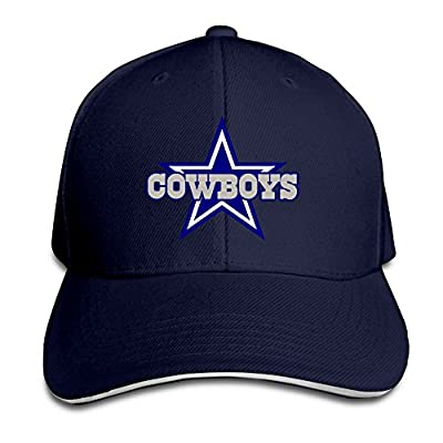 NJ Apparel Dallas Cowboy Unisex Hat With Sandwich Peak Navy