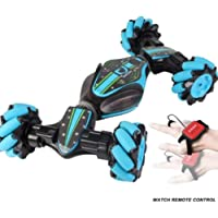 Tricherry Christmas Stunt RC Car Gesture Sensing Twisting Vehicle Drift Car Driving Toy Gifts
