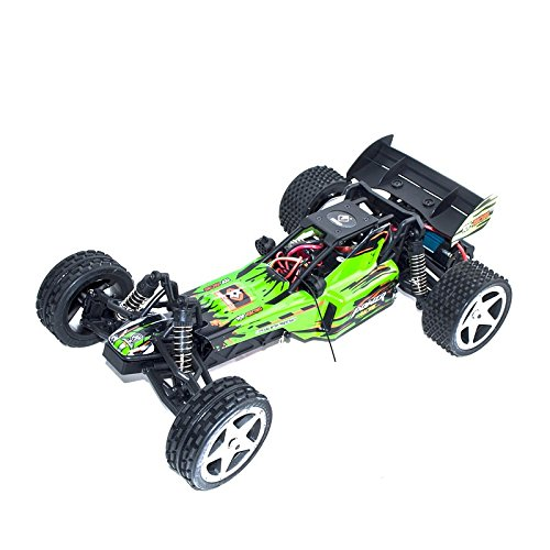 (ALEKO RCC66959GREEN 2.4G Brushed Electric Powered Off-Road Buggy (1:12 Scale))
