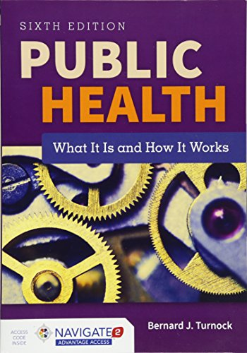 1284069419 - Public Health: What It Is and How It Works