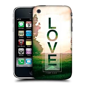 Head Case Designs Love Droplets of Life Hard Back Case Cover for Apple iPhone 3G 3GS