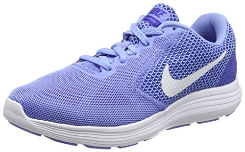 Blue conco Laufschuhe Damen Red white chalk Course 3 Bleu Femme Nike Chaussures Revolution De qH7vav