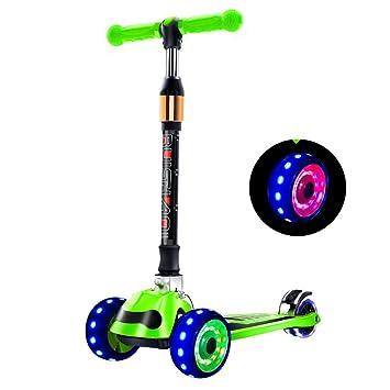 Scooters para 2-3-6-12 niños Plegable Años de Edad del niño ...