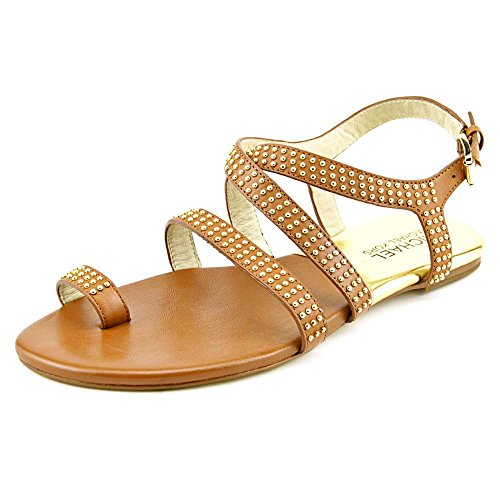 (Michael Michael Kors Women's Arianna Toe Thong Luggage Sandal 6 M)