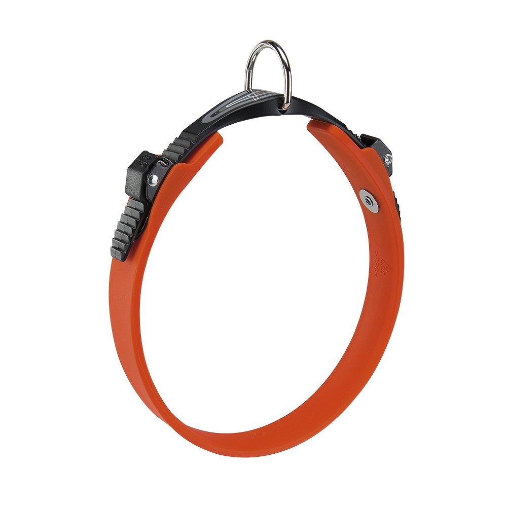 orange 34 42 cm x 22 mm orange 34 42 cm x 22 mm Ferplast Ergoflex Dog Collar, 34 42 cm x 22 mm, orange