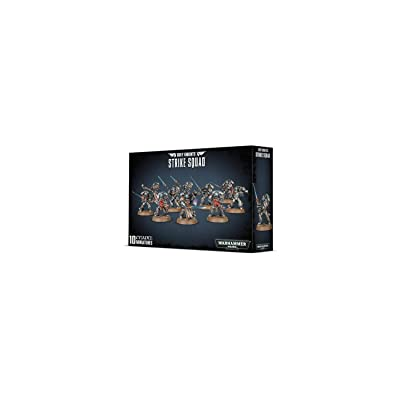 Games Workshop Warhammer 40k Grey Knights Strike Squad: Toys & Games [5Bkhe0307411]