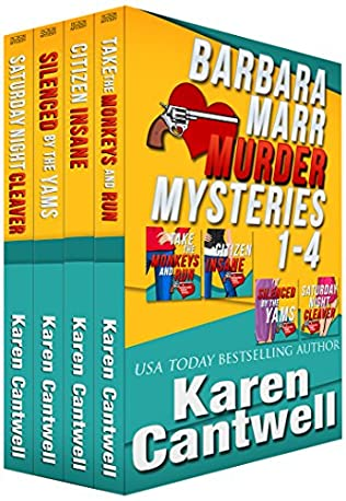 book cover of Barbara Marr Mysteries Boxed Set