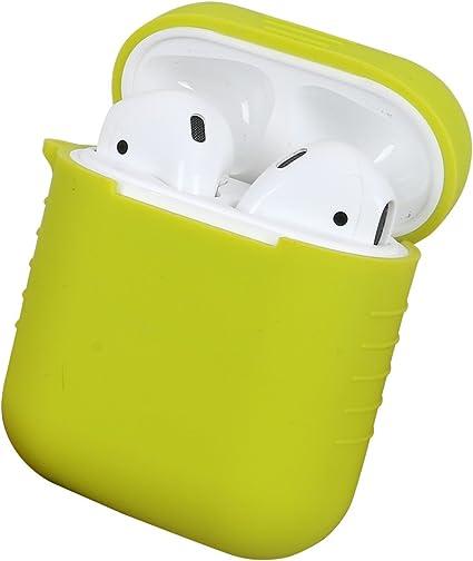 Leeko Funda de protección para Apple AirPods, Estuche de Silicona ...