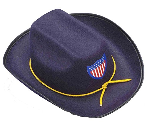 Civil War Union Officer Cowboy Hat Child Costume Accessory Army Soldier Blue New -  Forum Novelties, 73931
