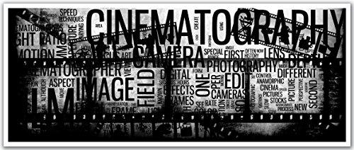 JP London PAN5291 uStrip Vintage Camera Movie Film Text H...