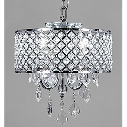 Chandelier Modern Crystal Round: Amazon.com