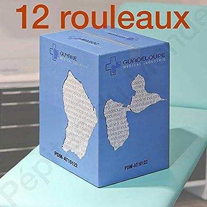 Toallas de examen Acres Ouate plastificada – 50 x 120 cm T50 tamaños 36 G/