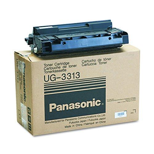 Panasonic UG3313 Toner, 10000 Page-Yield, Black (Panasonic 800 Dx Panafax Fax)