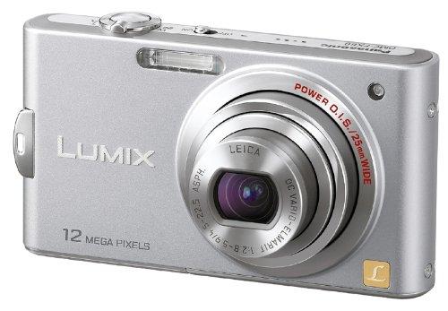 Panasonic デジタルカメラ LUMIX (ルミックス) FX60 プレシャスシルバー DMC-FX60-S